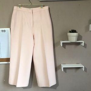 Fendi High Waisted Dress Pants Blush Pink Trouser